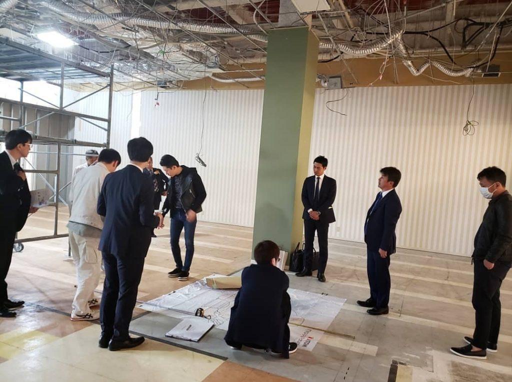 神道レディースクリニック内装工事の軌跡①